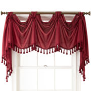Royal Velvet® Encore Rod-Pocket Victory Valance