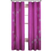 Jillian Rod-Pocket Curtain Panel