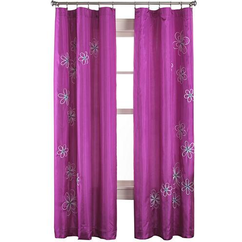 Jillian Rod-Pocket Curtain Panel
