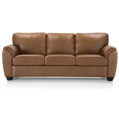 jcpenney.com | Leather Possibilities Sleeper Sofa