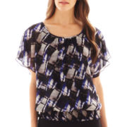 Alyx® Short-Sleeve Print Top