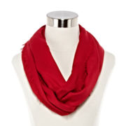 Solid Pashmina-Style Loop Scarf
