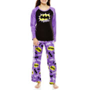 Character Long-Sleeve Top and Pants Microfleece Pajama Set