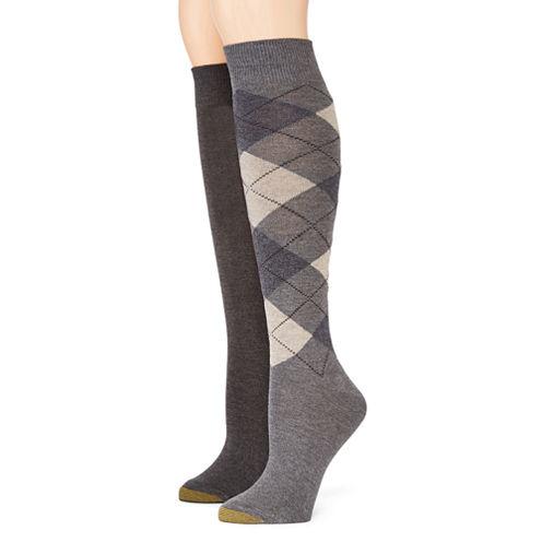 Gold Toe® Womens 2-pk. Knee-High Socks