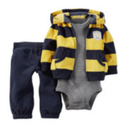 Carter's® Hoodie, Bodysuit and Pants - Baby Boys newborn-24m