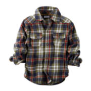 Carter's® Button-Front Plaid Shirt - Baby Boys newborn-24m