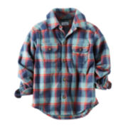 Carter's® Button-Front Plaid Shirt - Baby Boys 3m-24m