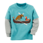 Carter's® Long-Sleeve Graphic Tee - Baby Boys 3m-24m