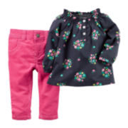 Carter's® Tunic and Corduroy Jeggings - Baby Girls newborn-24m