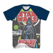 Star Wars: Force Awakens™ Vintage Raglan-Sleeve Graphic Tee