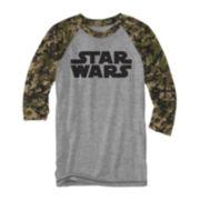 Star Wars™ Ewok Camo Baseball Tee