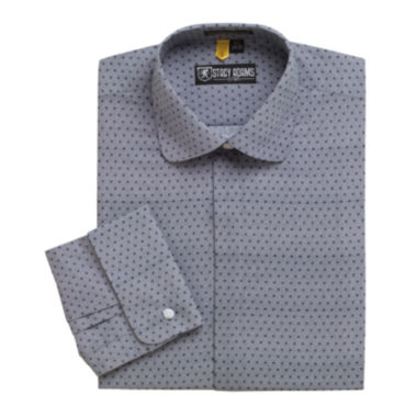 jcpenney.com | Stacy Adams® Granada Patterned French Cuff Dress Shirt
