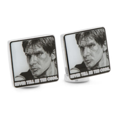 jcpenney.com | Star Wars™ Hans Solo Never Tell Me The Odds Cuff Links