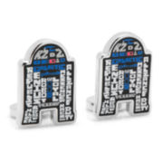 Star Wars™ R2D2 Typography Cuff Links