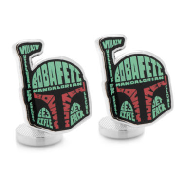 jcpenney.com | Star Wars™ Boba Fett Typography Cuff Links