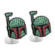 Star Wars™ Boba Fett Typography Cuff Links
