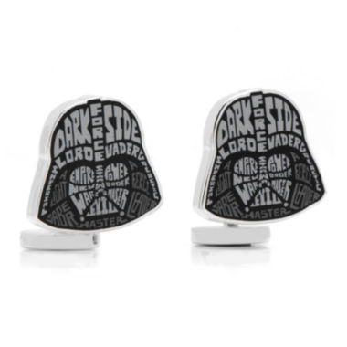 jcpenney.com | Star Wars™ Darth Vader Typography Cuff Links