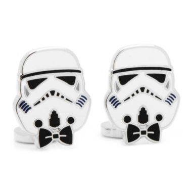 jcpenney.com | Star Wars™ Storm Trooper Bow Tie Cuff Links