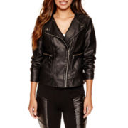 Worthington® Faux-Leather Jacket