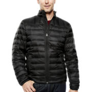 Dockers® Quilted Puffer Jacket with Packable Neck Pillow