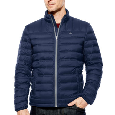jcpenney.com | Dockers® Quilted Puffer Jacket with Packable Neck Pillow
