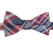 Izod® Rhino Plaid Pre-Tied Bow Tie