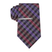 JF J. Ferrar® Charles Plaid Tie