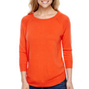 Stylus™ Long-Sleeve Swing Sweater - Tall