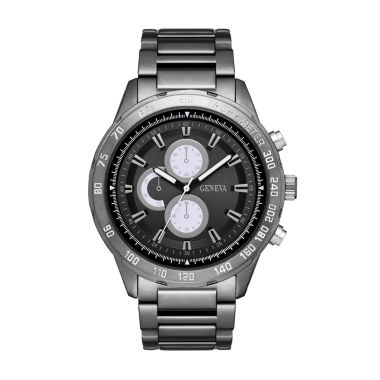 jcpenney.com | Geneva Mens Black Bracelet Watch-Fmdjm548