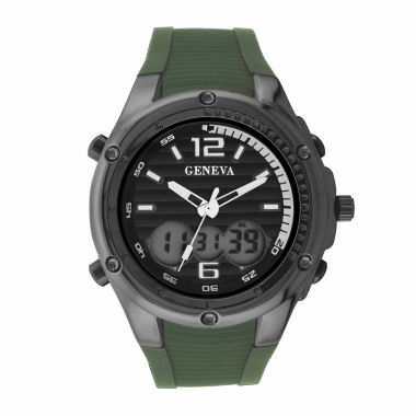 jcpenney.com | Geneva Mens All-Black Watch