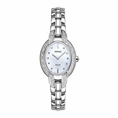 jcpenney.com | Seiko Ladies Silver Tone Bracelet Watch-Sup323