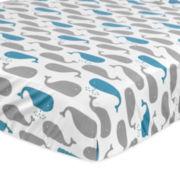 Just Born Cotton Crib Sheet