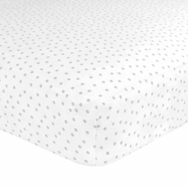 jcpenney.com | Just Born Multicolored Cotton Fitted Crib Sheet
