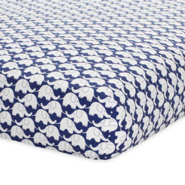 jcpenney.com | Just Born Blue Fitted Crib Sheet