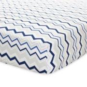 Just Born Blue Crib Sheet