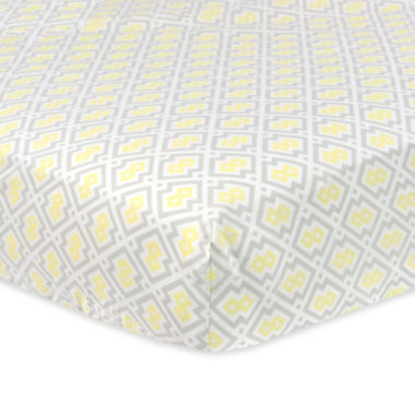 jcpenney.com | Just Born Multicolored Fitted Cotton Crib Sheet
