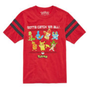 Pokemon Boys Short Sleeve Pokemon T-Shirt-Big Kid