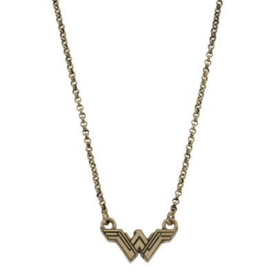 Womens wonder woman pendant necklace jcpenney womens wonder woman pendant necklace aloadofball Gallery