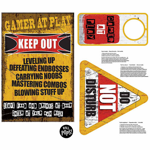 Brewster Wall Gamer At Play Wall Quote Wall Decal