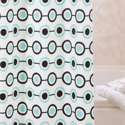 Kenney Medium Weight Decorative PEVA Shower Curtain Liner