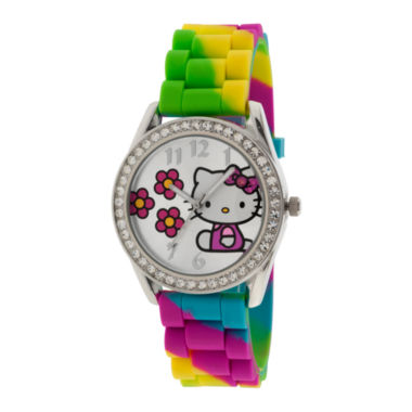 jcpenney.com | Rainbow Crystal-Accent Watch