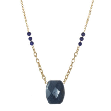 jcpenney.com | ROX by Alexa Dyed Blue Lapis Necklace