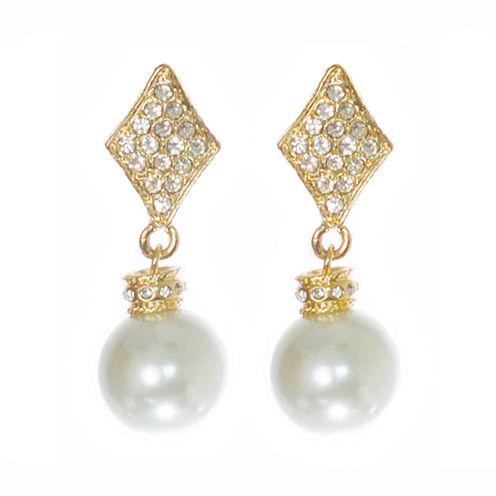 telio! by Doris Panos Gold-Tone Alysee Pearl Drop Earrings