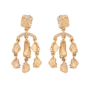 10021 | Kara Ross Crystal Fragment Chandelier Earrings