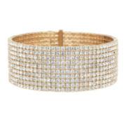 Natasha Gold-Tone Crystal Wrap Bracelet
