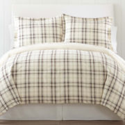 jcp home™ Flannel Duvet Cover Set