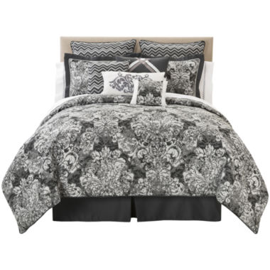jcpenney.com | Marquis by Waterford® Dakota 4-pc. Comforter Set & Accessories
