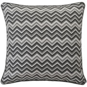 Marquis by Waterford® Dakota Chevron Euro Sham