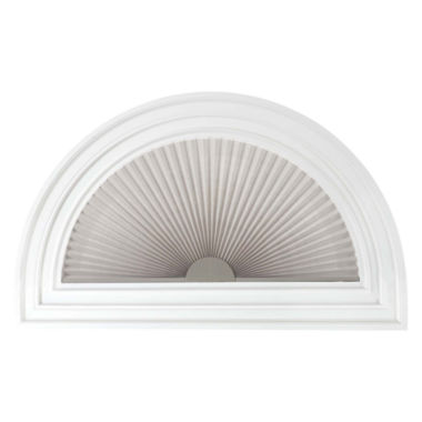 "jcpenney.com | JCPenney Home™ 1"" Arch Pleated Linen Shade - FREE SWATCH"