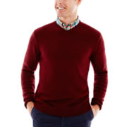 St. John's Bay® Midweight V-Neck Sweater